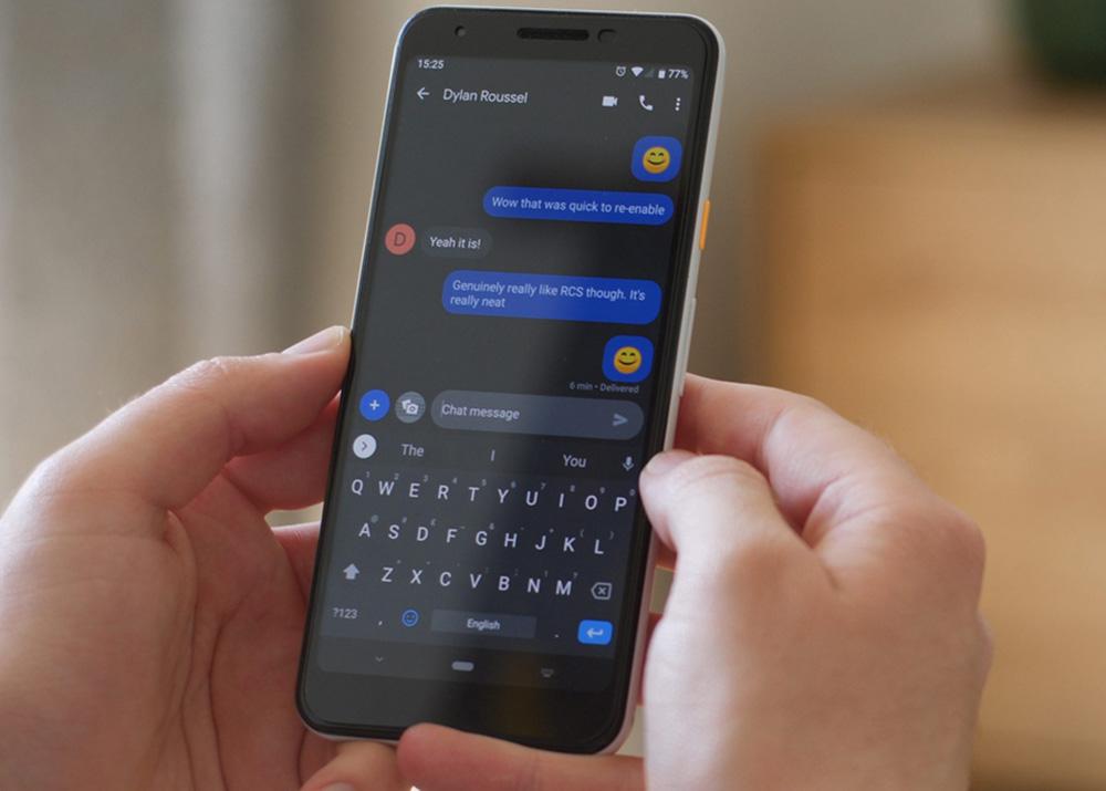 طراحی اپلیکیشن Google Messages