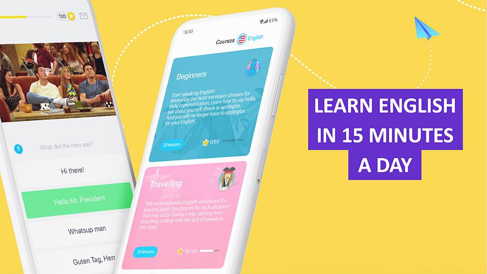 بهترین اپلیکیشن اندروید یادگیری زبان