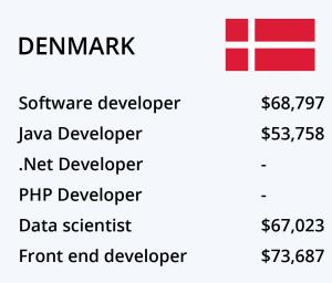 حقوق برنامه نویسی دانمارک