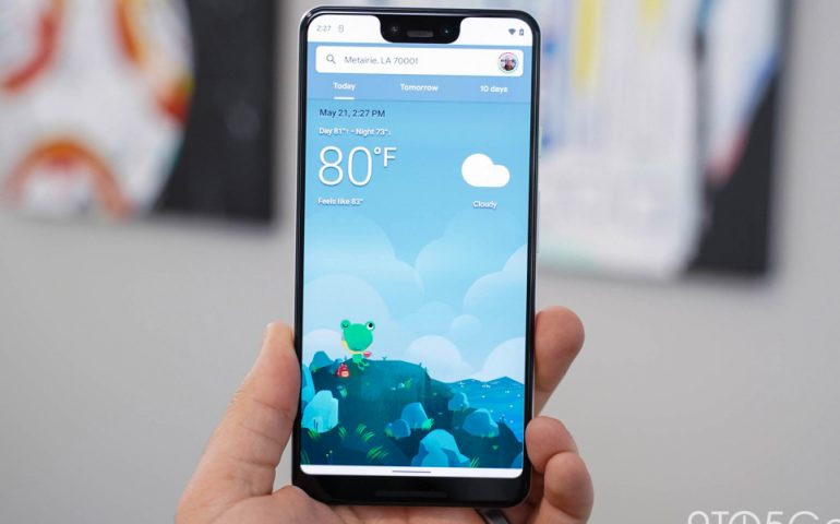 طراحی اپلیکیشن Weather